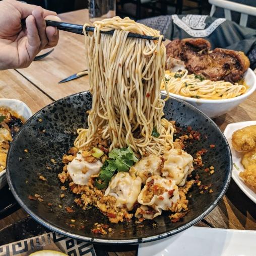 Won ton noodles