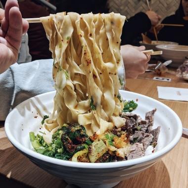 Dry Chilli Noodles